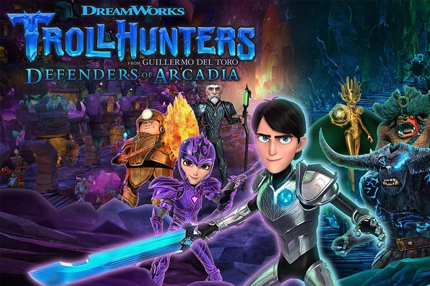 Dreamworks troll hunters i difensori di arcadia - Ongame Network