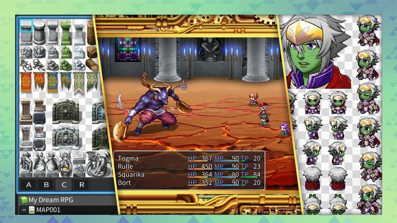 Ongame negozi franchising videogames RPG MAKER MV (3)