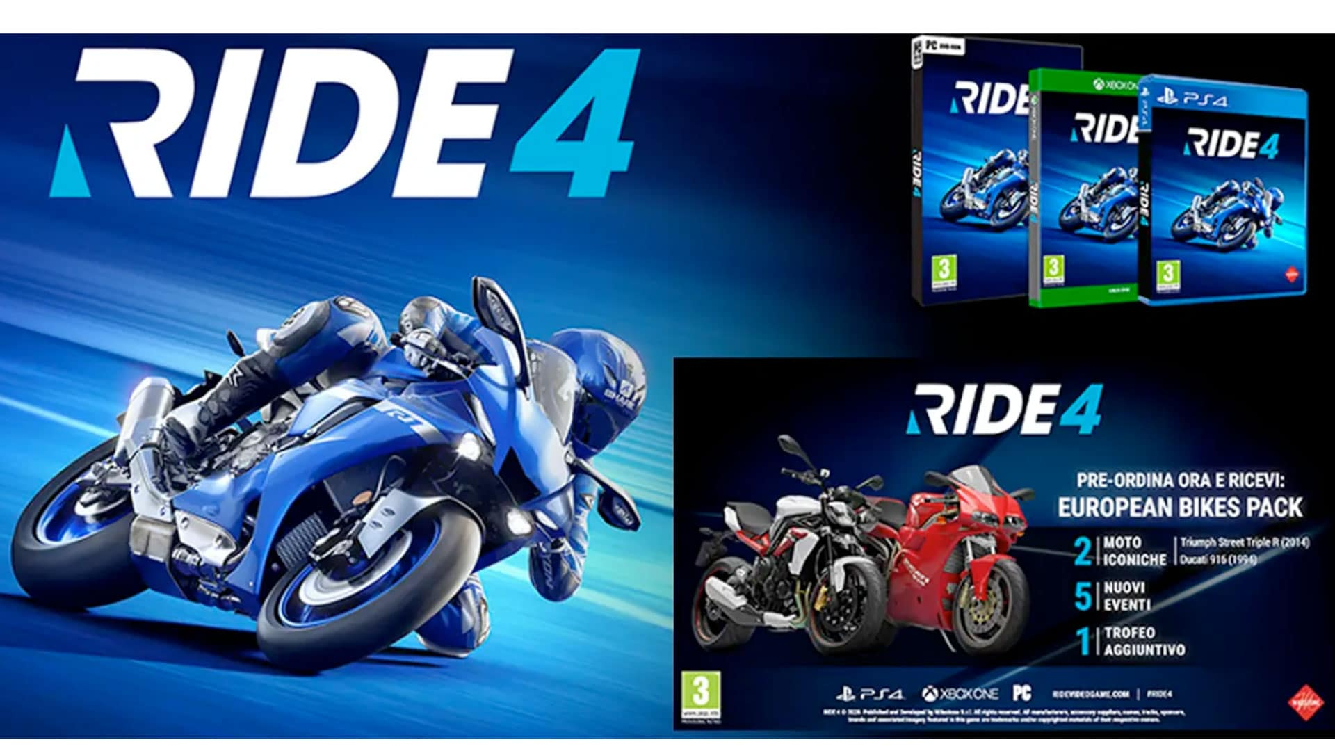 Ride-4 Presell - Ongame Network