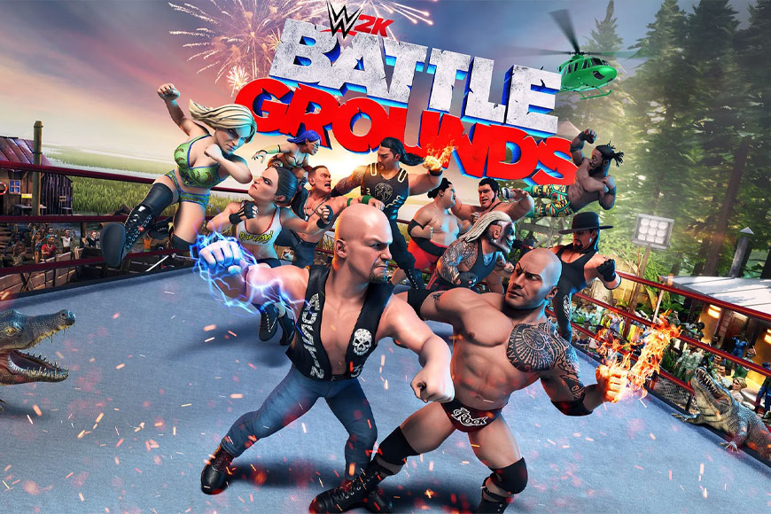 WWE 2K Battlegrounds - Ongame Network