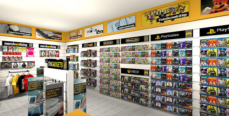 apri il tuo negozio di videogames in franchising