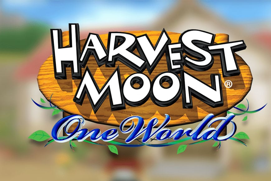 Harvest moon one world - Ongame Network