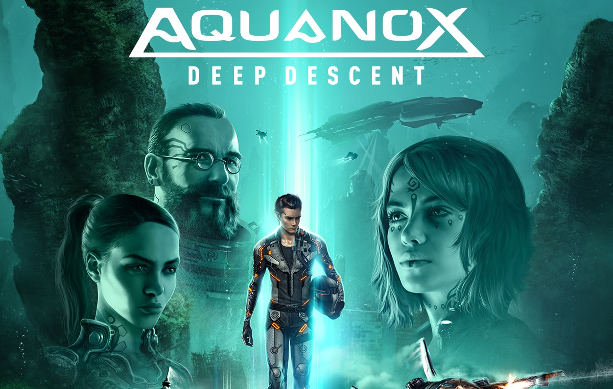 Ongame franchising videogames AQUANOX DEEP DESCENT