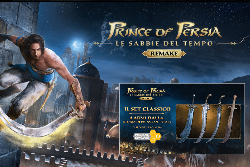 Prince Of Persia - Ongame Network