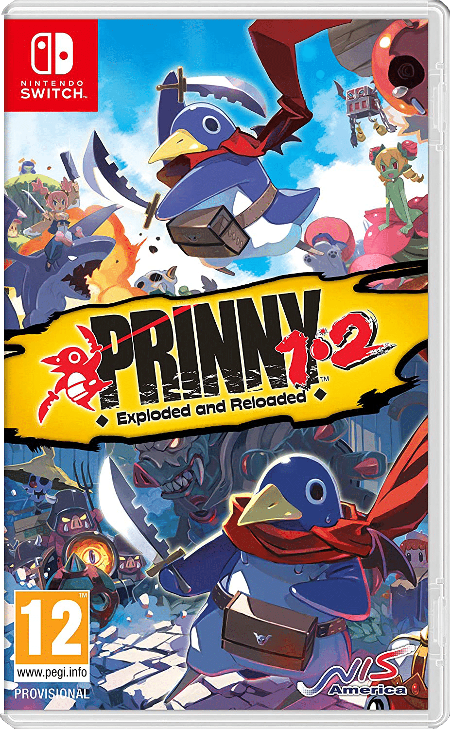 Prinny 1 2 Exploded and Reloaded - Ongame Network