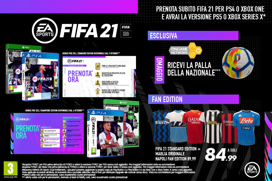 FIFA 21 - Ongame Network