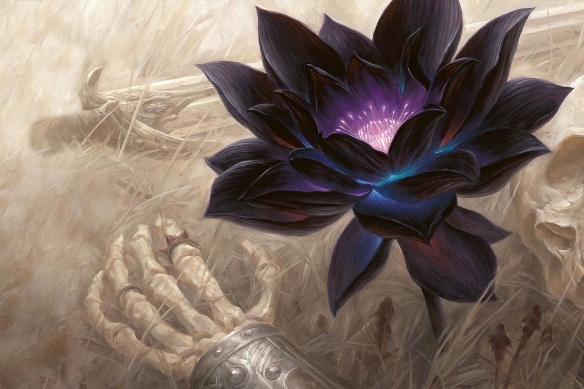 MAGIC: VENDUTO UN BLACK LOTUS ALL'ASTA PER OLTRE 87.000 $