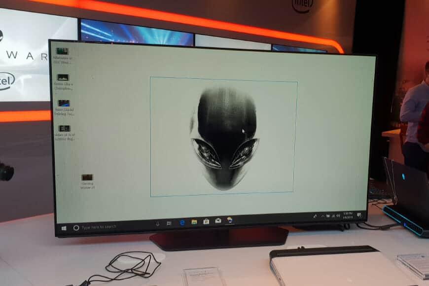 """Alienware: il monitor OLED Ultra HD da 55"""""""