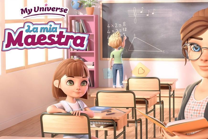 My Universe: la mia maestra
