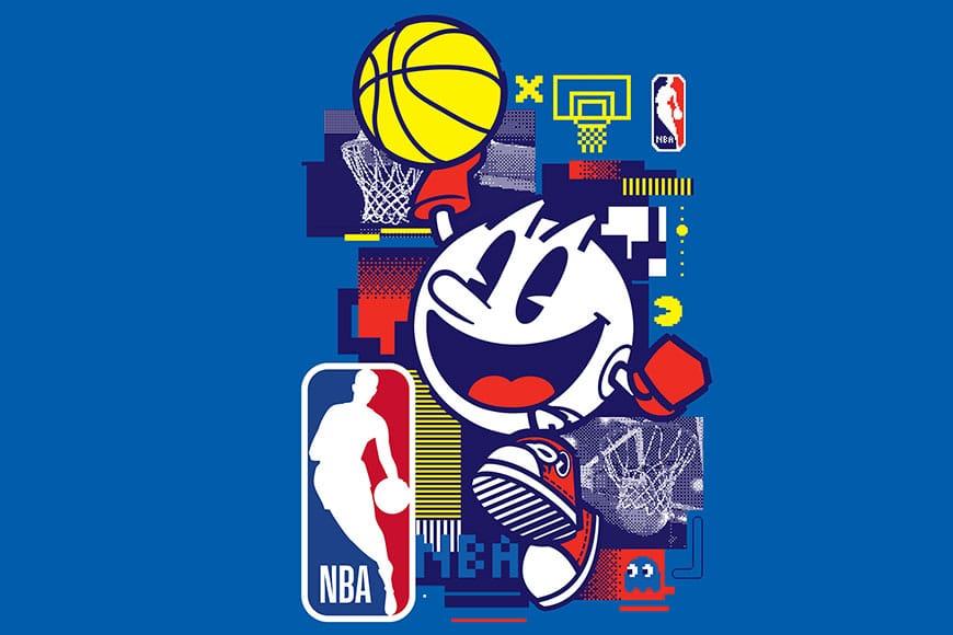 Bandai Namco e NBA annunciano una partnership per celebrare il 40° anniversario di PAC-MAN!