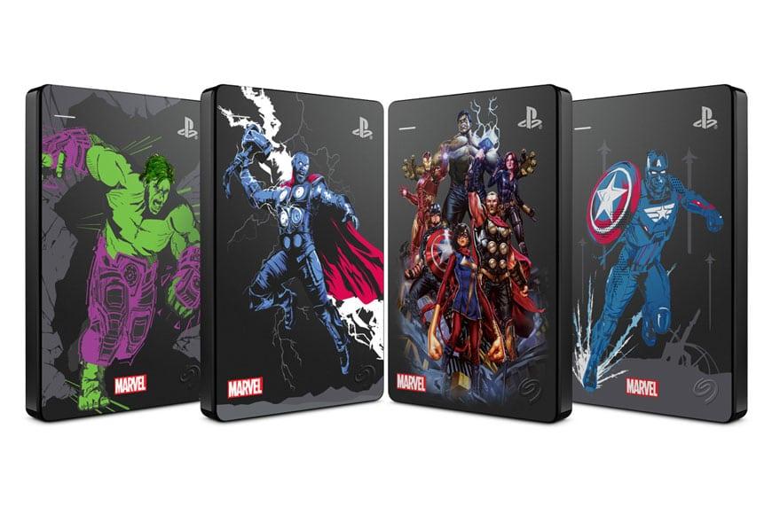 Seagate lancia il gamedrive per PS4 Marvel Avengers in edizione limitata