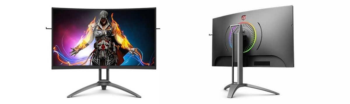 AOC un nuovo monitor gaming curvo dalle caratteristiche avanzate