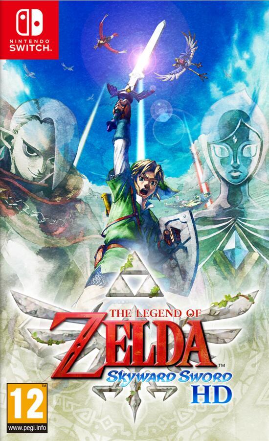 Legend of Zelda skyward sword HD