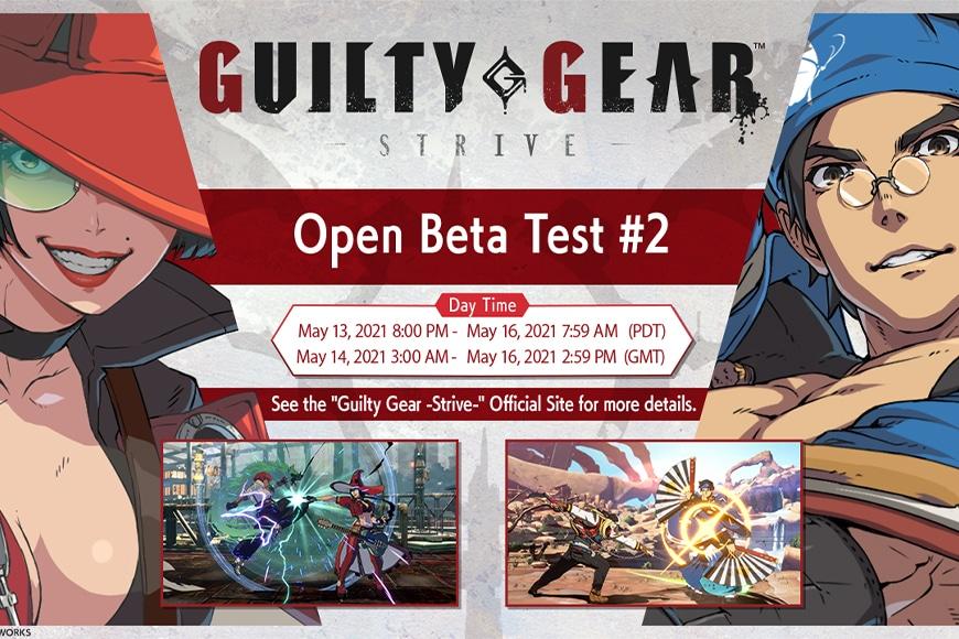 L'Open Beta Test #2 di Guilty Gear -Strive- sarà dal 14 al 16 maggio