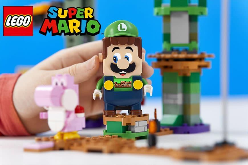 LEGO Super Mario Avventure di Luigi disponibile dal 1° agosto