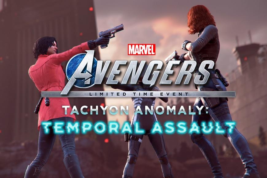 L'evento anomalia TACHIONICA di Marvel's Avengers è ora disponibile