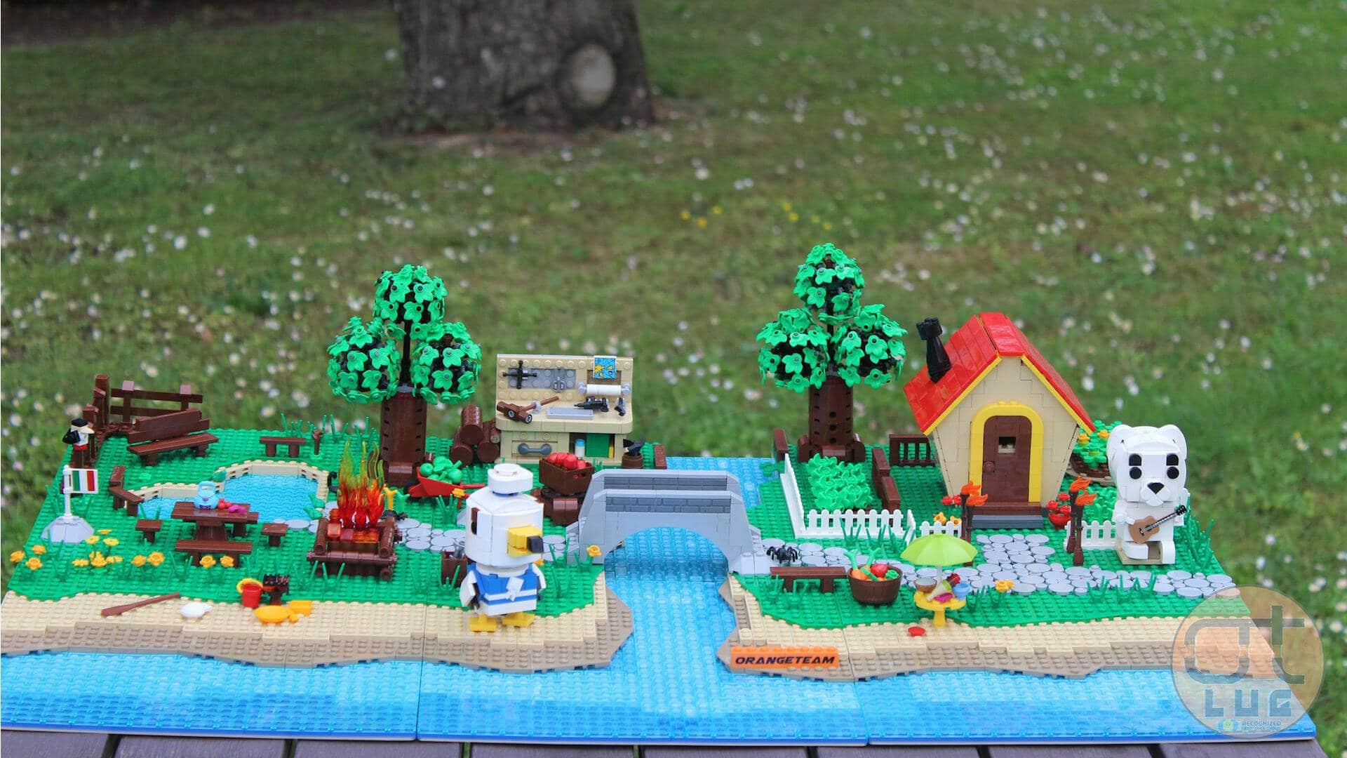 Animal Crossing: New Horizons diventa un diorama LEGO grazie a una community di appassionati