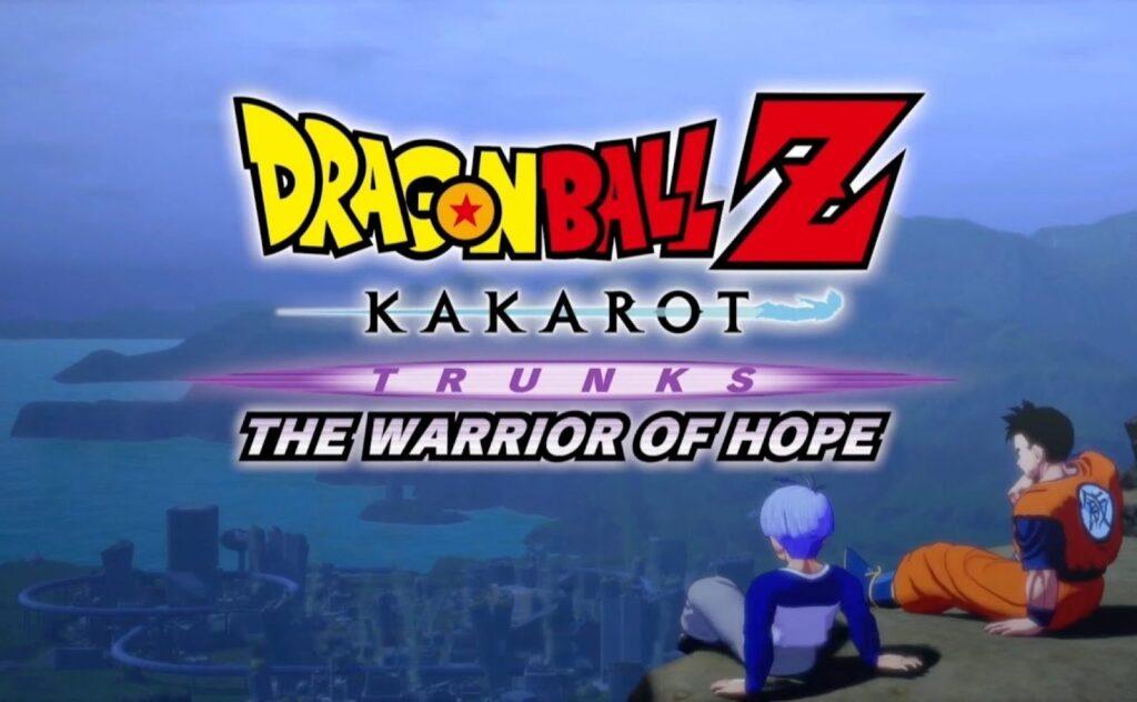 Dragon ball Z Kakarot trunks the warrior of hope