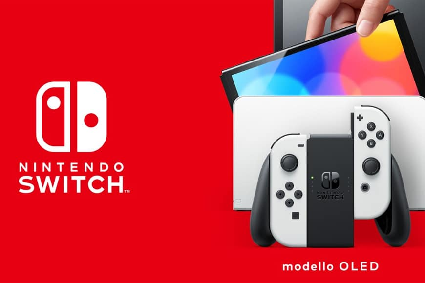 Nintendo annuncia Nintendo Switch (modello OLED) con schermo OLED da 7 pollici, disponibile dallì8 ottobre